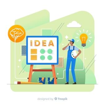 Koncepcja pomysł na projekt graficzny