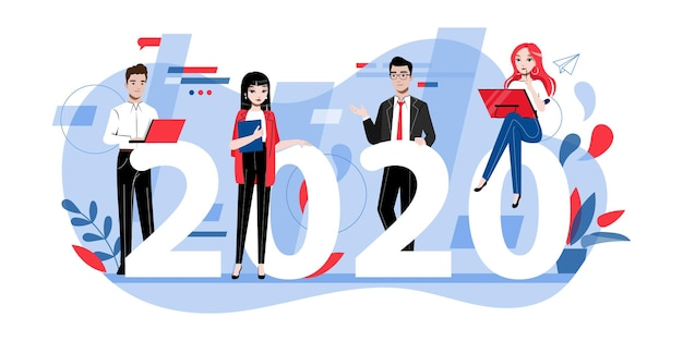 Koncepcja pracy zespołowej. cele i rezolucje na rok 2020.