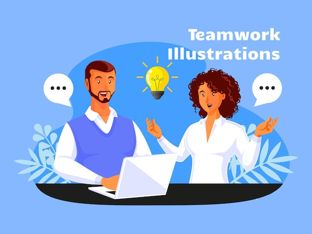 Koncepcja pracy zespołowej partnerstwa biznesowego