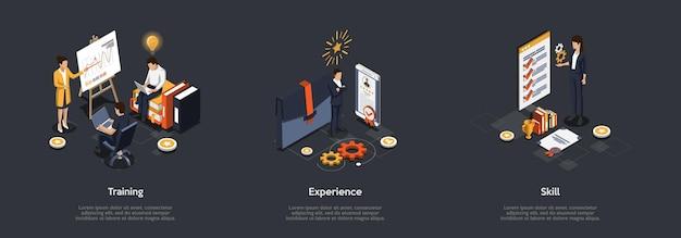 Koncepcja prezentacji biznesowych.