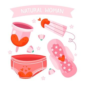 Koncepcja produktów higieny kobiecej