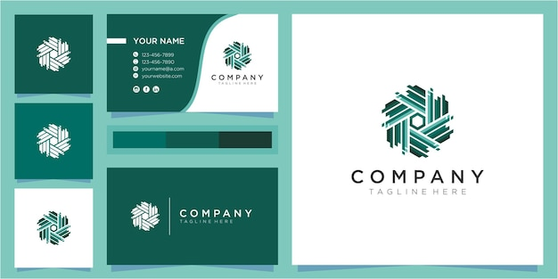Koncepcja projektowania logo litery w. inspiracje do projektowania logo społeczności. kolorowe logo społeczności z wizytówką