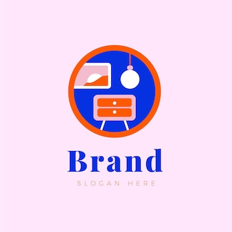 Koncepcja projektowania logo mebli