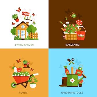 Koncepcja projektowania ogrodnictwa