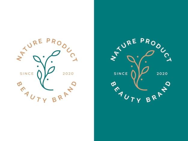 Koncepcja projektowania pięknego kwiatu logo