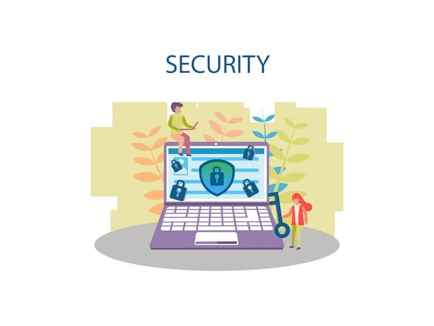 Koncepcja projektowania tła zabezpieczeń internetowych dla pager internetowych