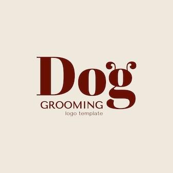 Koncepcja projektu dla domowych fryzjera lub fryzjera. szablon logo wektor.