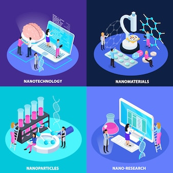 Koncepcja projektu izometryczny nano technology