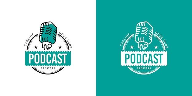 Koncepcja projektu logo podcastu