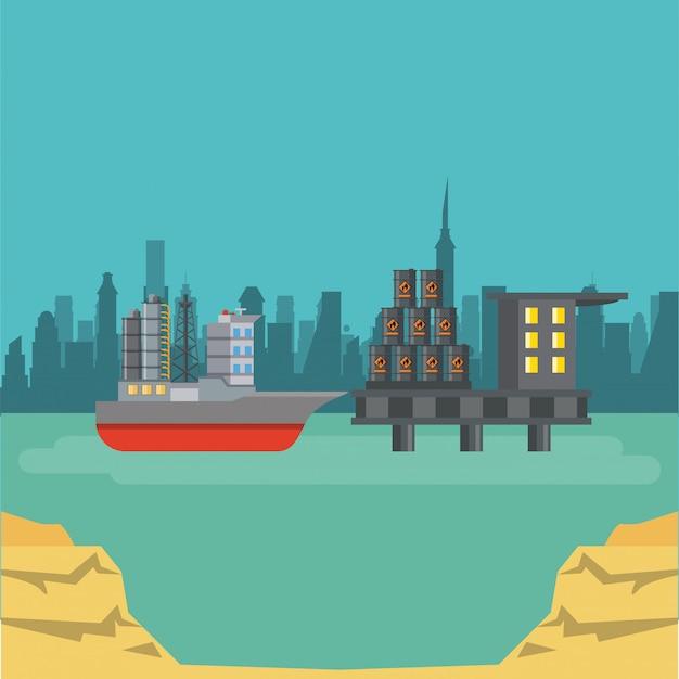 Koncepcja przemysłu ropy naftowej