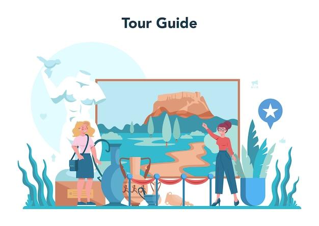 Koncepcja przewodnika turystycznego