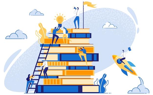 Koncepcja przywództwa i edukacji marketingowej.