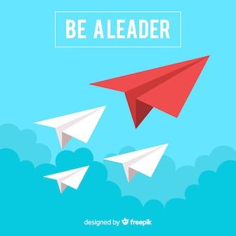 Koncepcja przywództwa i projekt papierowych samolotów