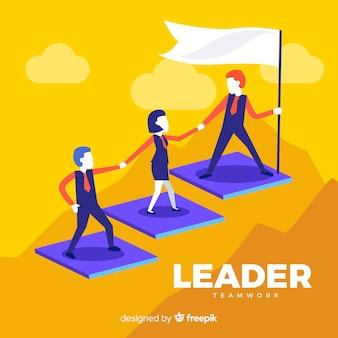 Koncepcja przywództwa w płaskiej konstrukcji