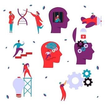 Koncepcja psychologii neurologii mózgu