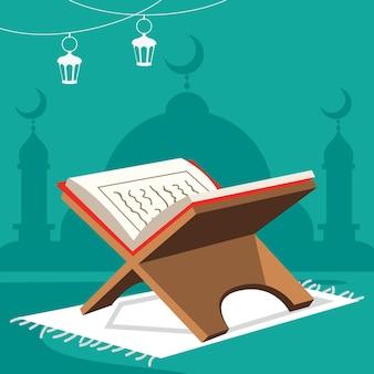 Koncepcja ramadan kareem i kultury islamskiej