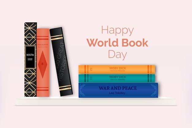 Koncepcja realistyczny światowy dzień książki
