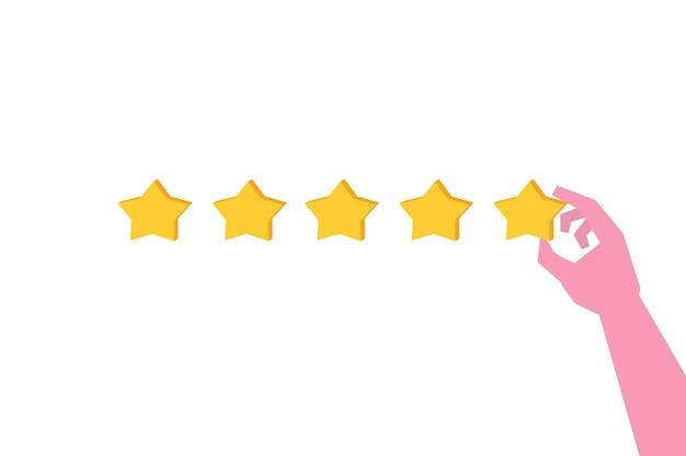 Koncepcja recenzji klienta. ocena użyteczności.