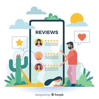Koncepcja recenzji strony docelowej