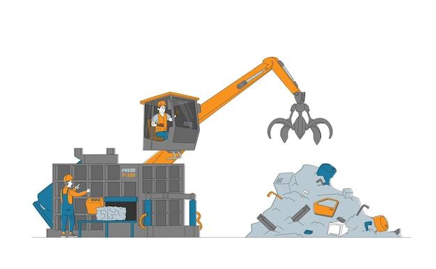 Koncepcja recyklingu i ponownego wykorzystania złomu