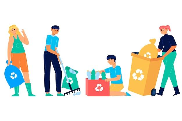 Koncepcja recyklingu ludzi