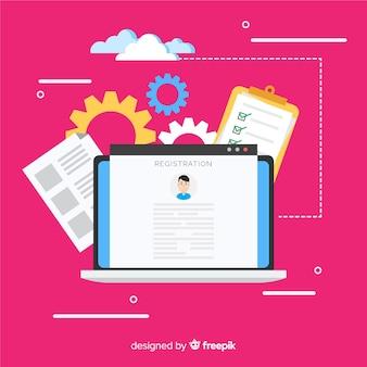 Koncepcja rejestracji online