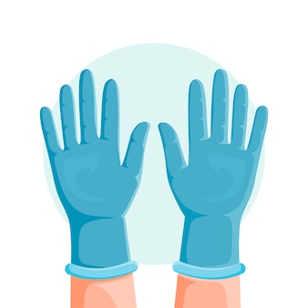 Koncepcja rękawic ochronnych
