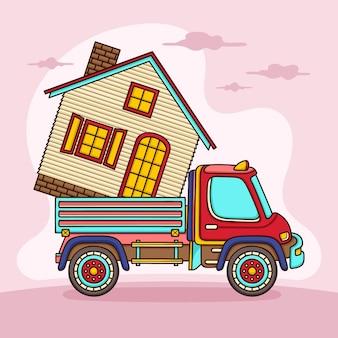 Koncepcja ruchu domu