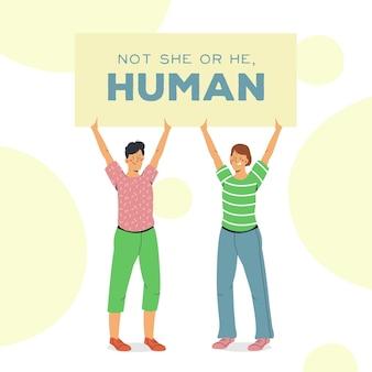 Koncepcja ruchu neutralna pod względem płci