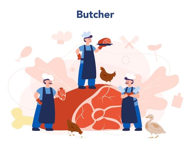 Koncepcja rzeźnika lub mięsaka