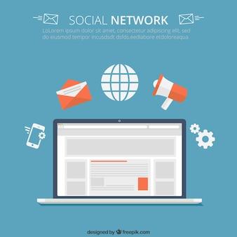 Koncepcja społecznej sieci