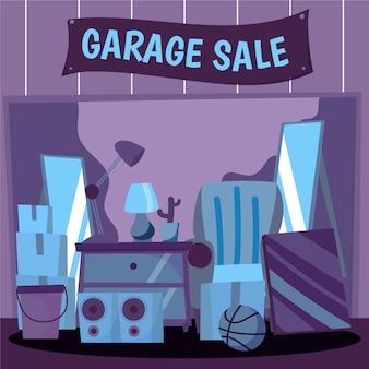 Koncepcja sprzedaży garażu z elementami