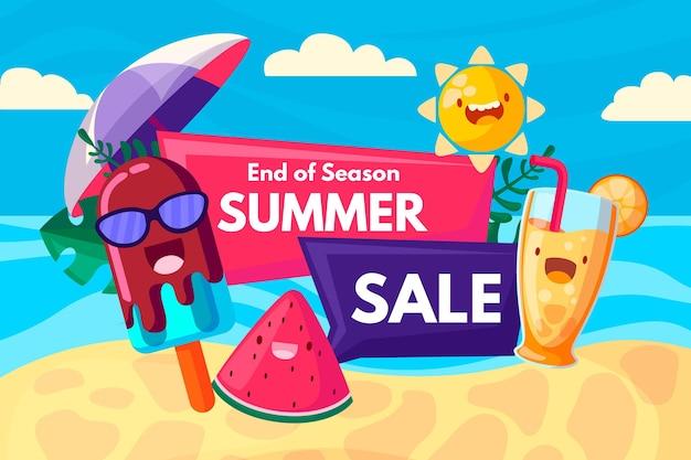 Koncepcja sprzedaży letniej na koniec sezonu