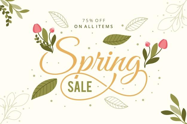 Koncepcja sprzedaży vintage wiosna