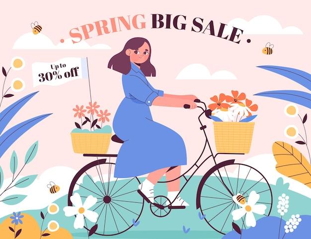 Koncepcja sprzedaży wiosny