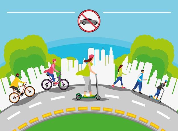 Koncepcja światowego dnia bez samochodu
