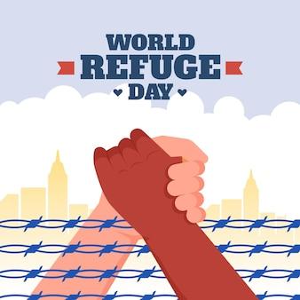 Koncepcja światowego dnia uchodźcy