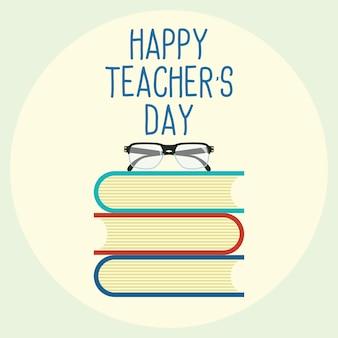 Koncepcja szczęśliwy dzień nauczyciela
