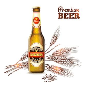 Koncepcja szkic piwa