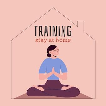 Koncepcja szkolenia w domu