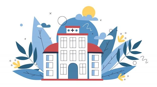 Koncepcja szpitala multidyscyplinarnego, klinika opieki zdrowotnej online