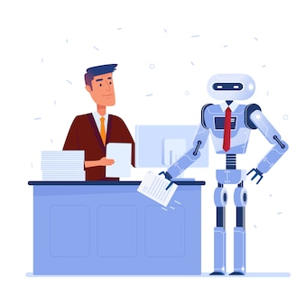 Koncepcja sztucznej inteligencji.