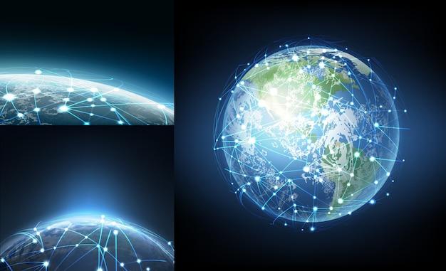 Koncepcja technologii blockchain kryptowaluta danych w bazie danych łańcucha blokowego