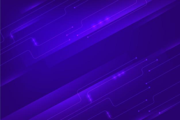 Koncepcja technologii cyber tło