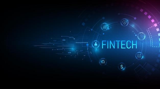 Koncepcja technologii finansowej płatności bankowych inwestycji biznesowych