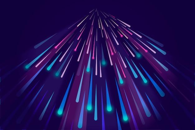 Koncepcja tła światła prędkości
