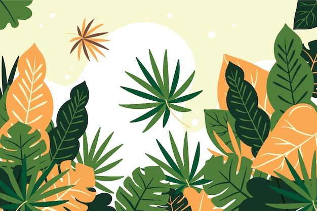 Koncepcja tropikalny tło