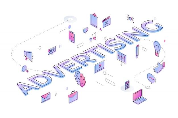 """Koncepcja typografii """""""". budowanie tekstu z ikoną cienkiej linii i układem graficznym. ilustracja."""