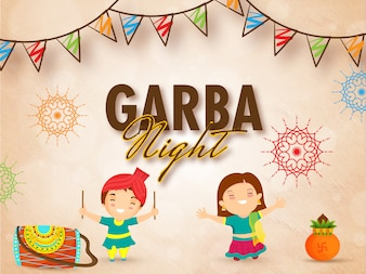 Koncepcja uroczystości nocowania Garba.