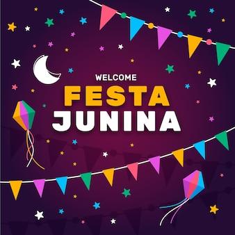 Koncepcja uroczystości festa junina